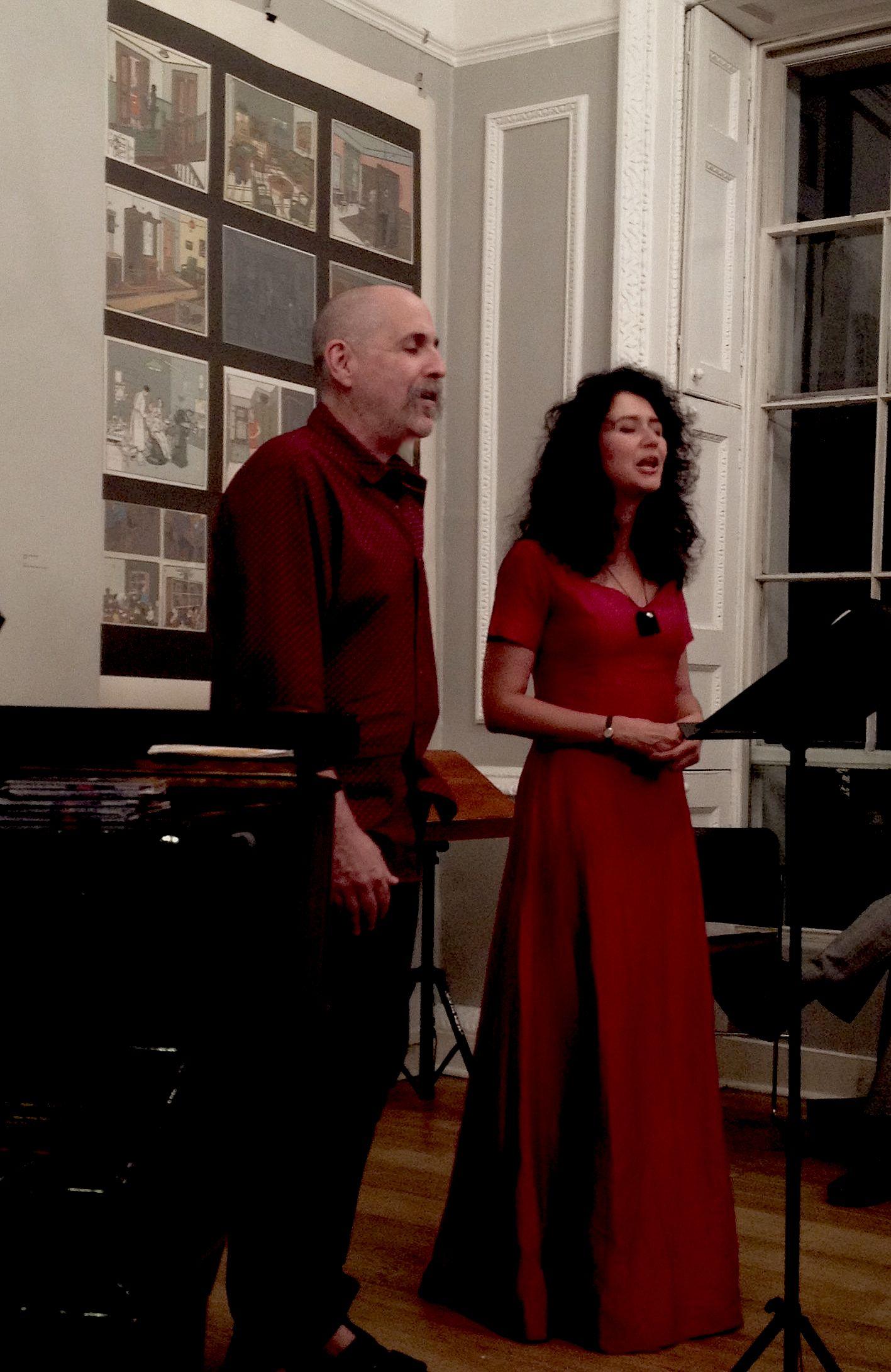 Lorin Sklamberg Polina Shepherd Pushkin House2