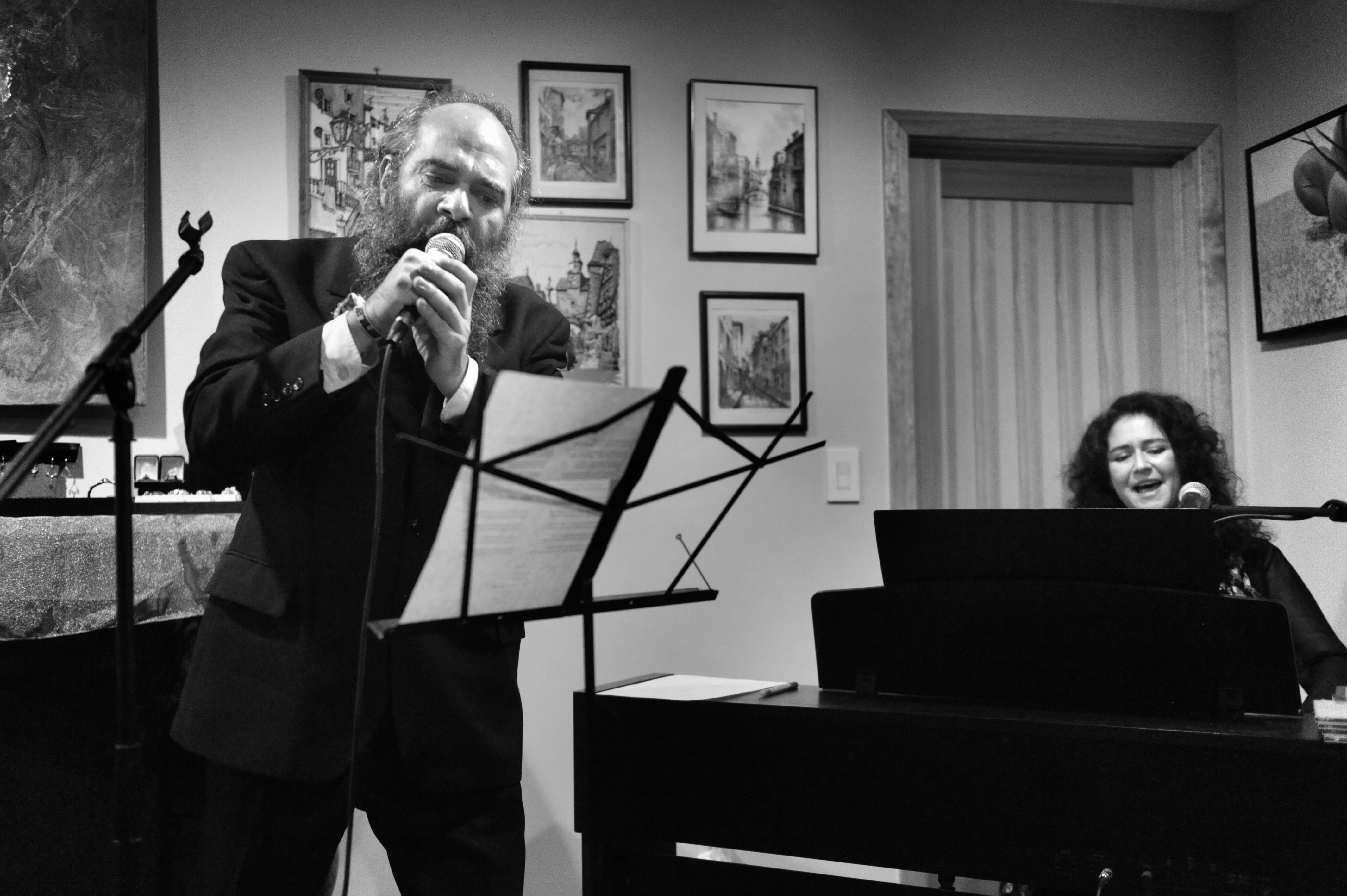 THE STRANNIKI (The Wanderers): Shlepping the Steppes and the Shtetl Psoy Korolenko (Russia / USA) and Polina Shepherd (Russia/UK)House concert10120 Parkwood Ter, Bethesda, MD 20814-4036https://www.polinashepherd.co.ukhttp://forward.com/culture/310193/inside-the-mad-yiddish-world-of-psoy-korolenjo/