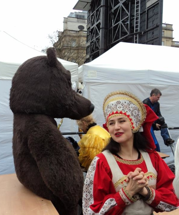 Maslenitsa on Trafalgar Square